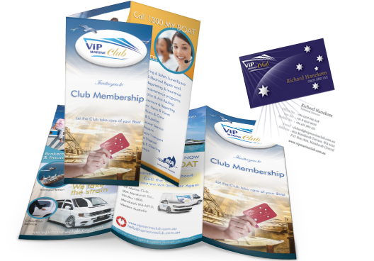 business cards, flyers, brochures