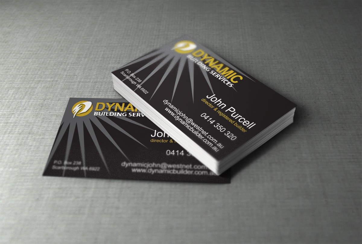 Builder business cards