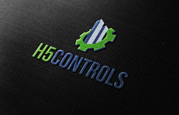 H5 stitched logo