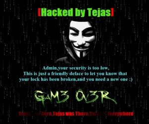 tejas hacker screenshot