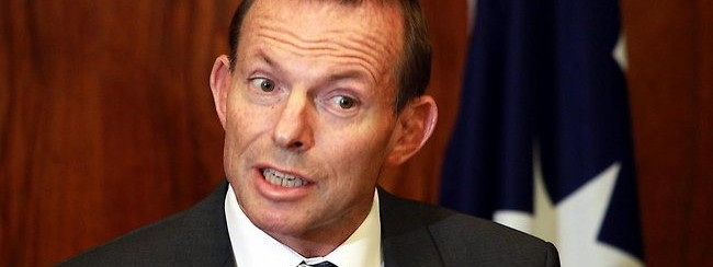 prime minister tony abbott isn't very fond of criticism
