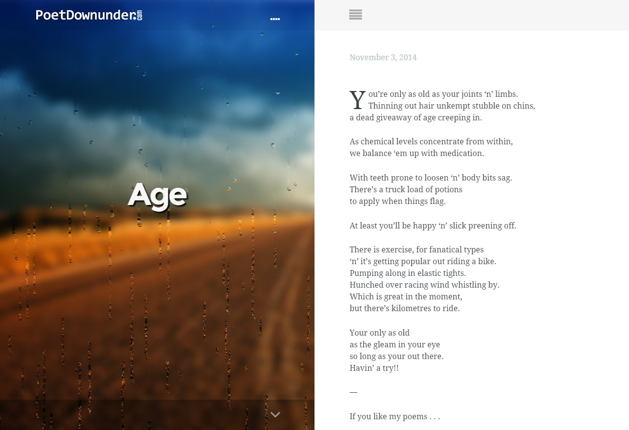 poet down under
