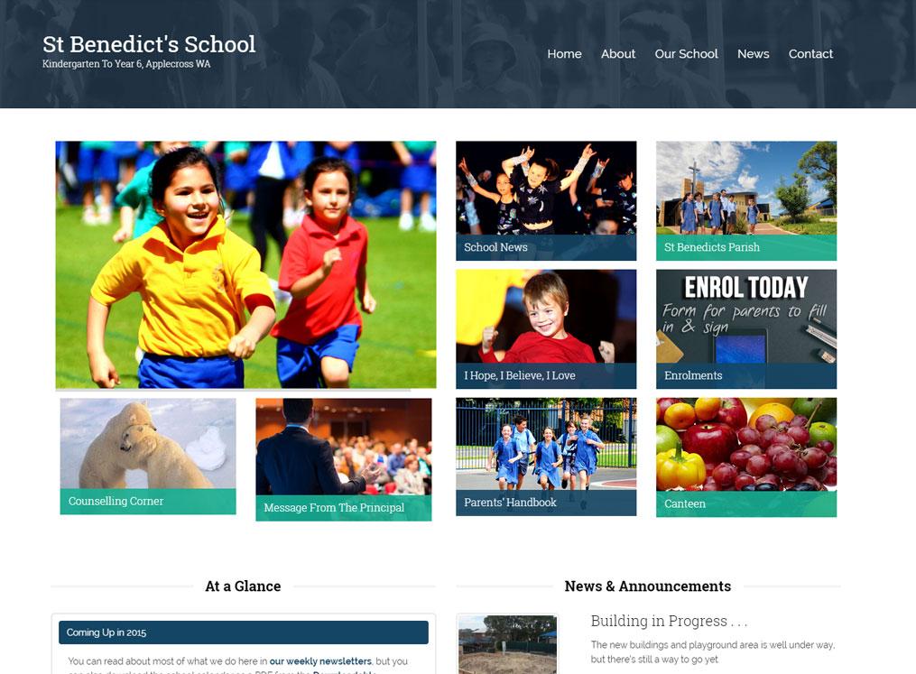 st benedicts school for children