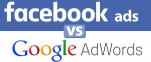 facebook ads versus google adwords