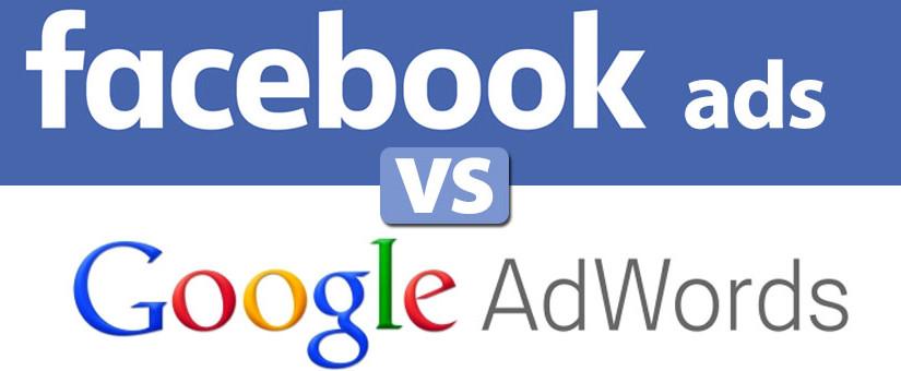 facebook ads versus google adwords