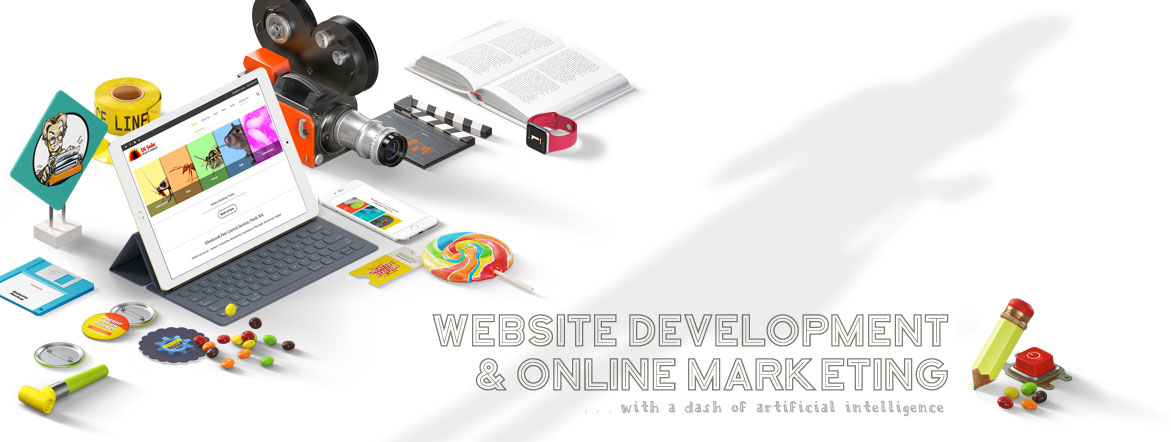 website development and online marketing