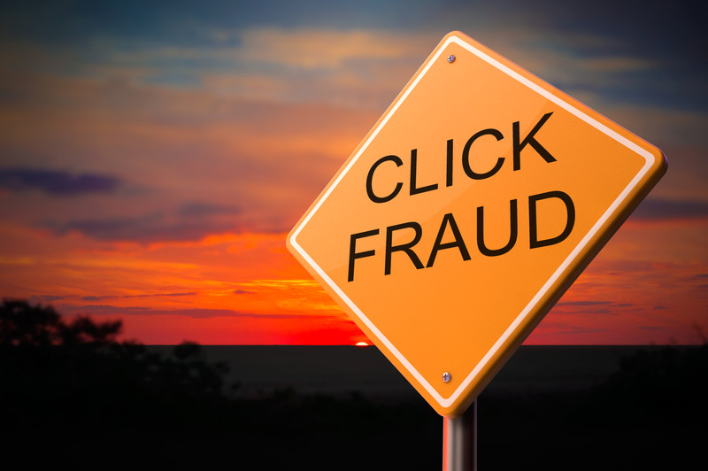 click fraud theft