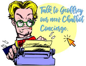 geoffrey website design chatbot