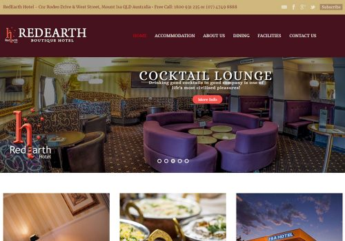 Red Earth Hotel - Web Design, Marketing & SEO