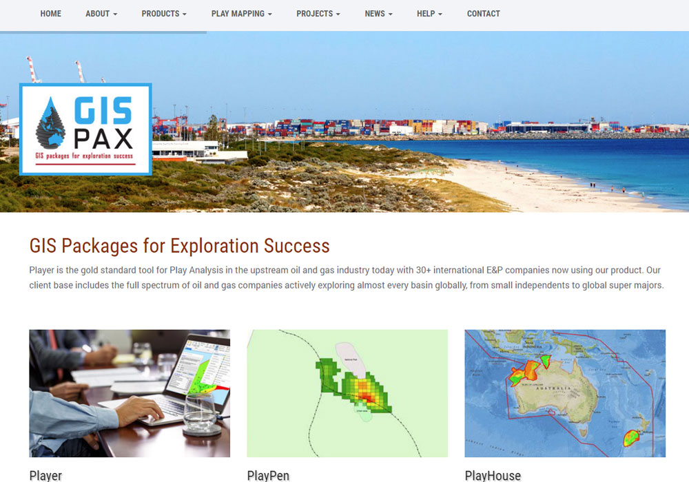 GIS-pax Mining & Exploration Software - Website, SEO, Content Updates, Adwords