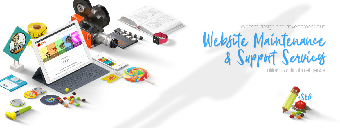 website design development and web maintenance