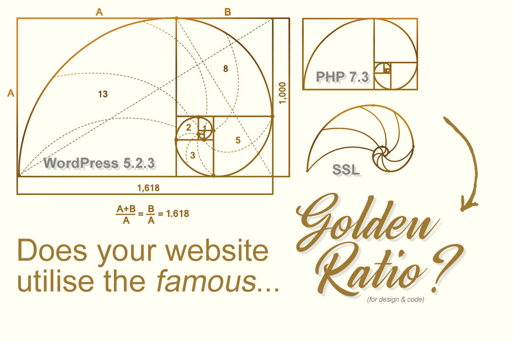 website health golden ratio