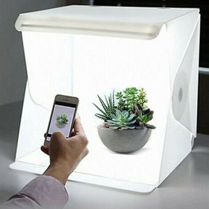 lightbox for photographing small products