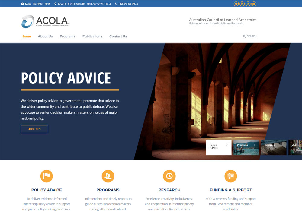 acola website