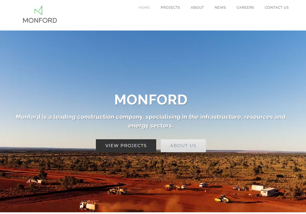 Monford Group website