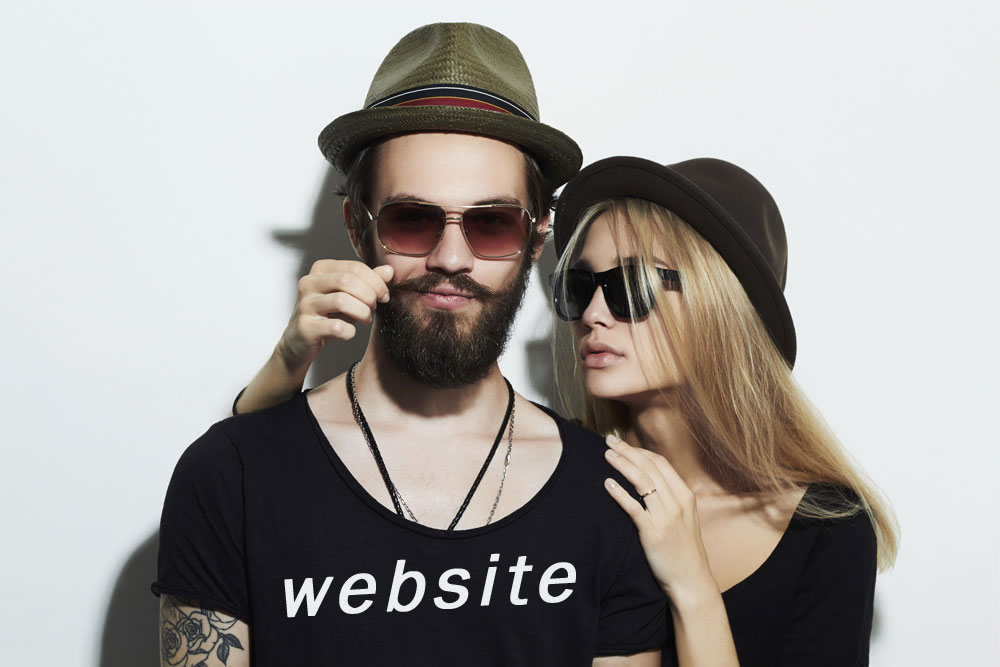 the perfect website man